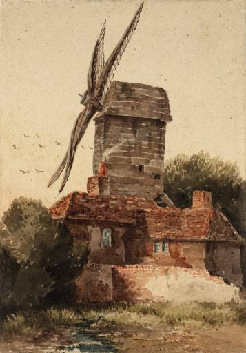 David Cox - windmill