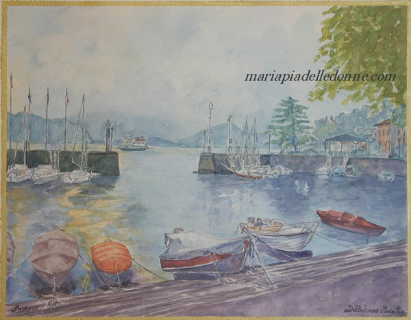 Laveno-Il porticciolo - The little port